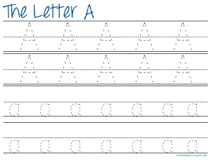 Letter Tracing Download