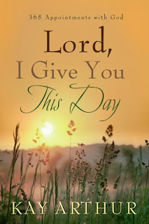 Lord I give you this day