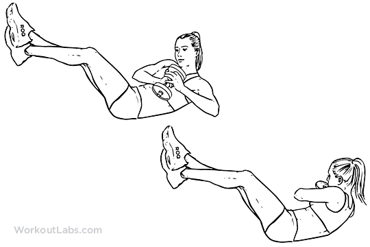 Watch How to Do Reverse Crunches video