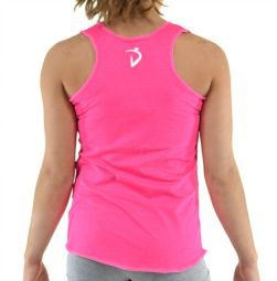 Glowing Hearts Tank- Pink Power