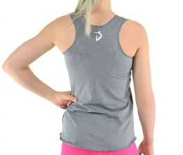 Glowing Hearts Tank- Silver Softie